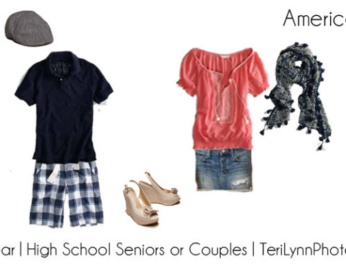 High School Seniors or Engagement Portraits | What-To-Wear Wednesdays | Teri Lynn Photography