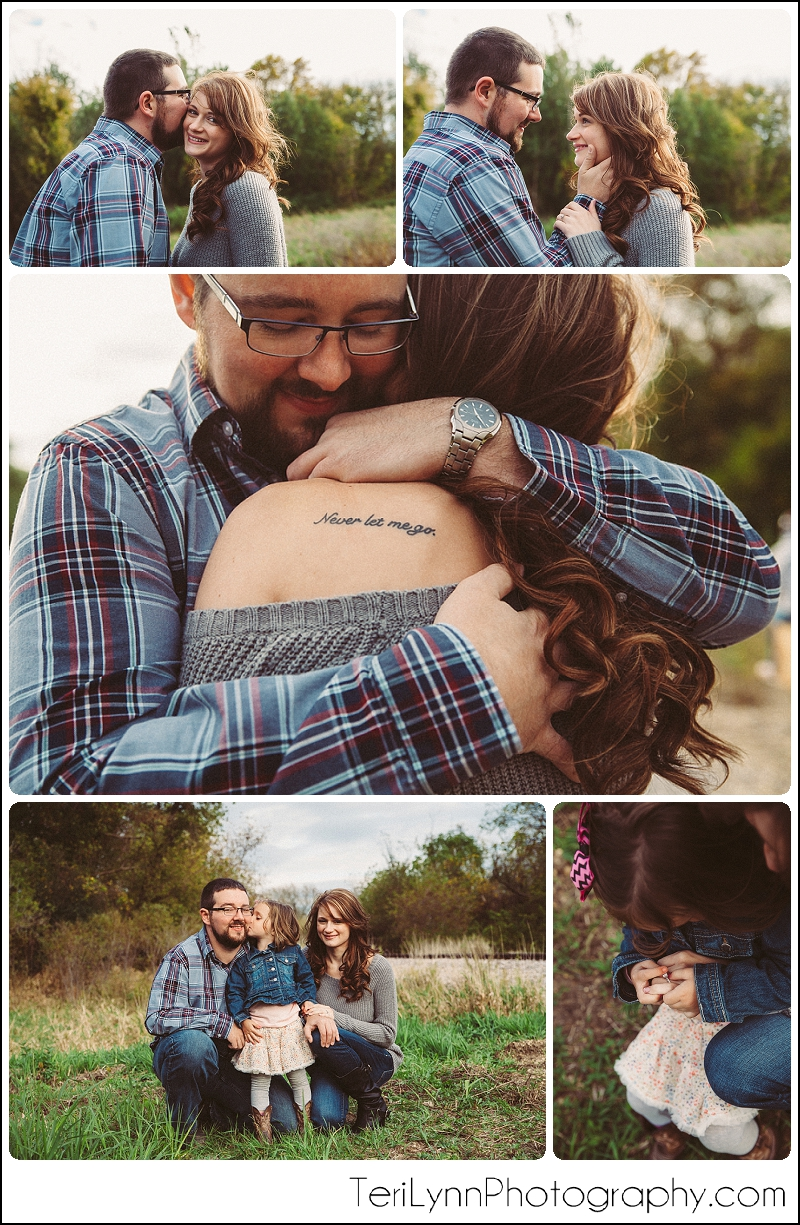 Samantha and Dave Rustic Engagement Photography session.  Southern WI