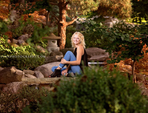 Alexa – Rotary Gardens High School Senior Photography – Janesville, WI