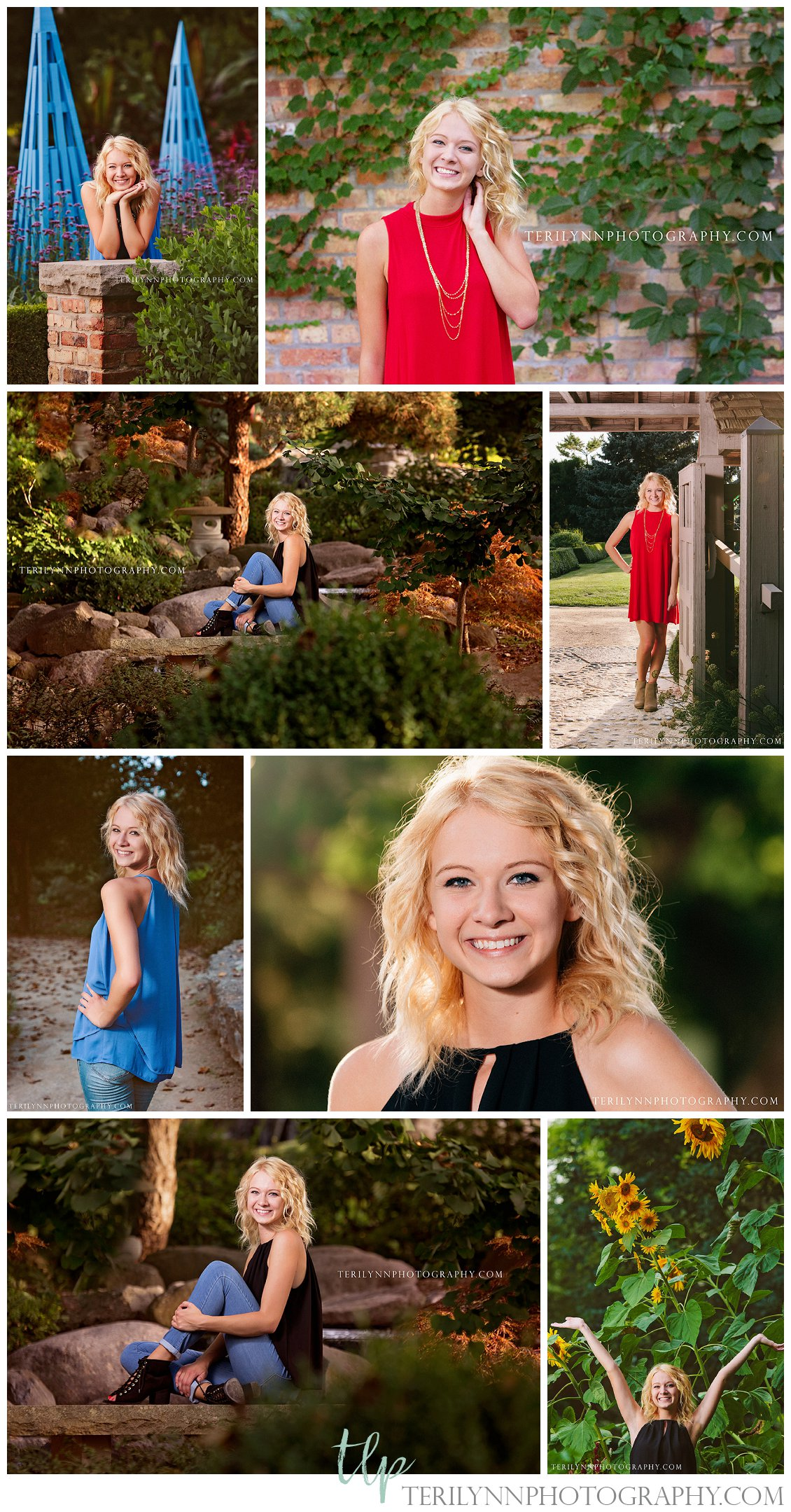 Rotary Gardens Senior Pictures Wisconsin