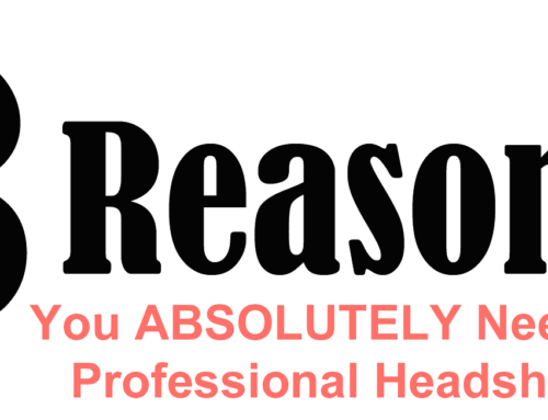 3 Reasons You Need a Professional Headshot This Year –  Infographic